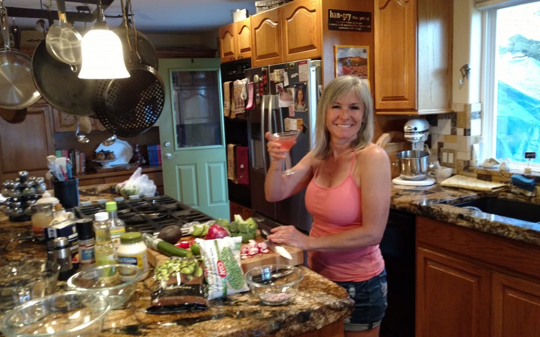 Making 3 Hearty And Healthyish Salads plus Guacamole With Buffy